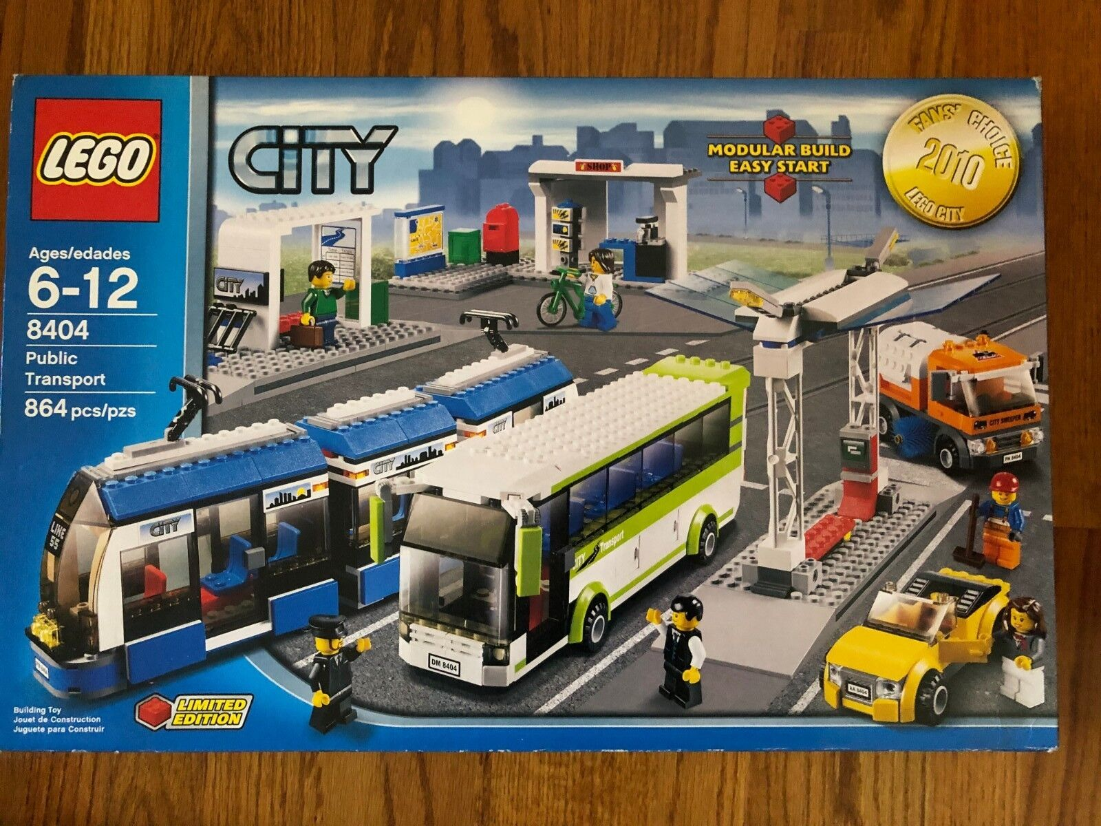 LEGO City Collection set  8404 Public Transport BRAND NEW Never Opened