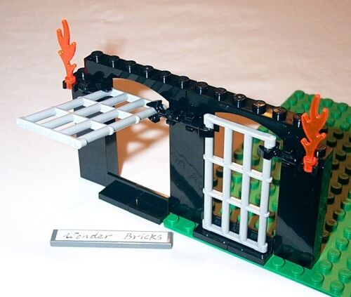 Lego Dungeon Jail Doors 2505 Castle Prison Bar Police Station Ninjago