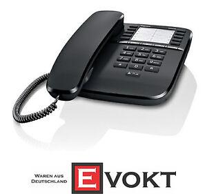 Gigaset-DA510-corded-analogue-telephone-black