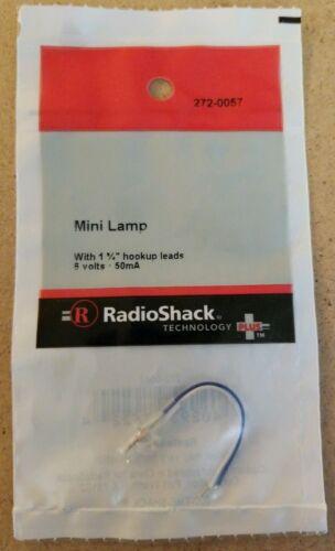 NEW RadioShack 6 Volt 50mA Mini Lamp 2720057 *FREE SHIPPING*