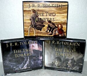 The-Two-Towers-3-Volume-Set-Audio-CD-Book-J-R-R-Tolkien-Harper