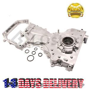 Fit 02-06 Nissan Altima Sentra SE-R 2.5L DOHC Oil Pump /& Timing Cover QR25DE