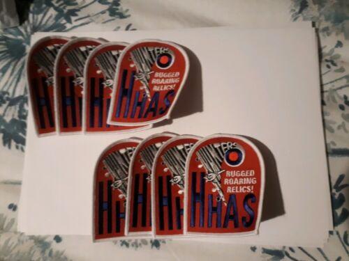 Hawkers hunter appreciation society cloth badge