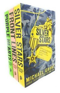 Front-Lines-series-Michael-Grant-Collection-3-Books-Set-Purple-Hearts-Front