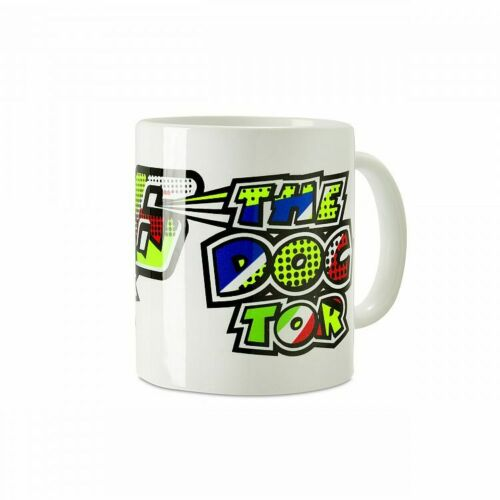 Tasse VR46 Pop Art The Doctor Mug VR|46 Valentino Rossi MotoGP Becher Keramik