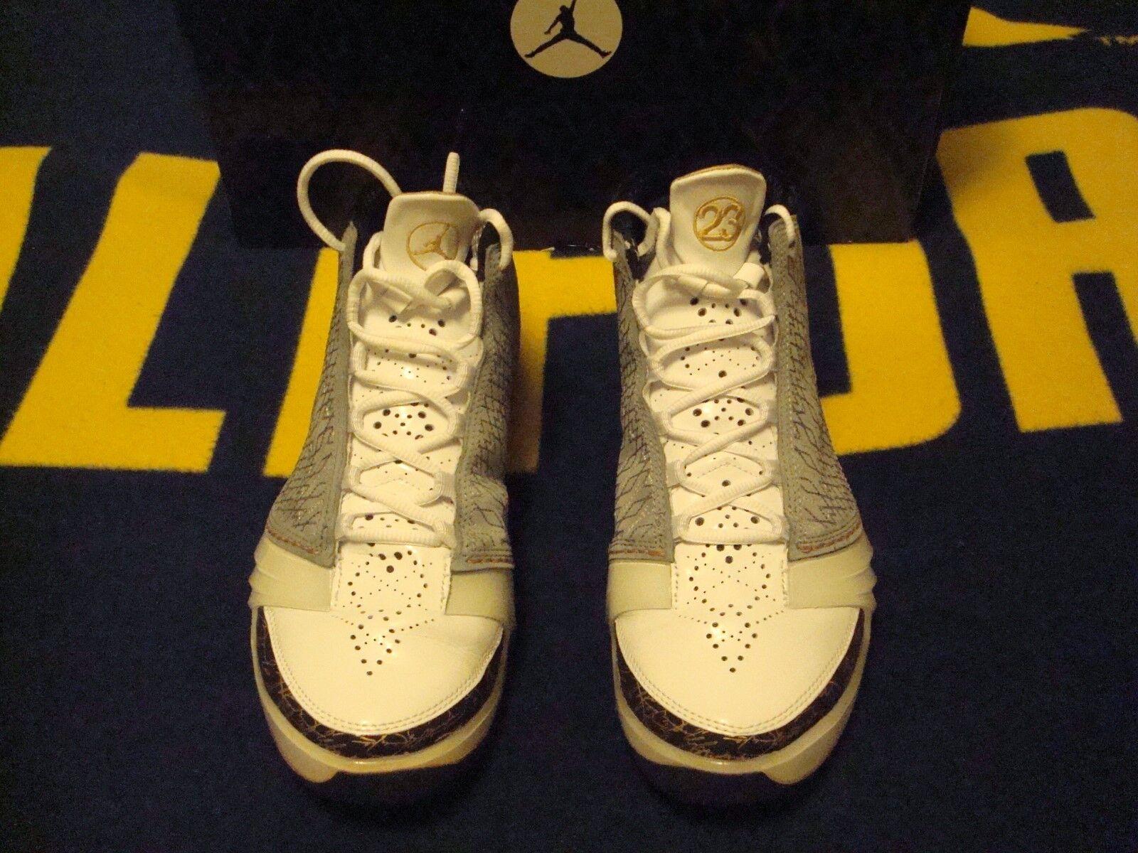 Jordan Brand Air Jordan XX3 Basketball shoes, Size 10.5 (2008)--White Stealth-Bl