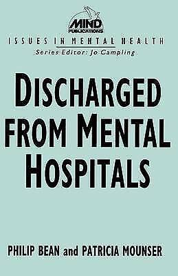 1 of 1 - NEW Discharged from Mental Hospitals (Issues in Mental Health) by Philip Bean
