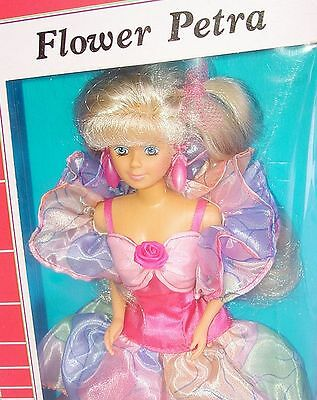 """Plasty Lundby PETRA 12"""" Action Figure Doll + FLOWER DRESS Fashion Outfit MIB`85!"""