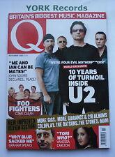 Q MAGAZINE - November 2002 - U2 / Foo Fighters / Nelly / Graham Coxon