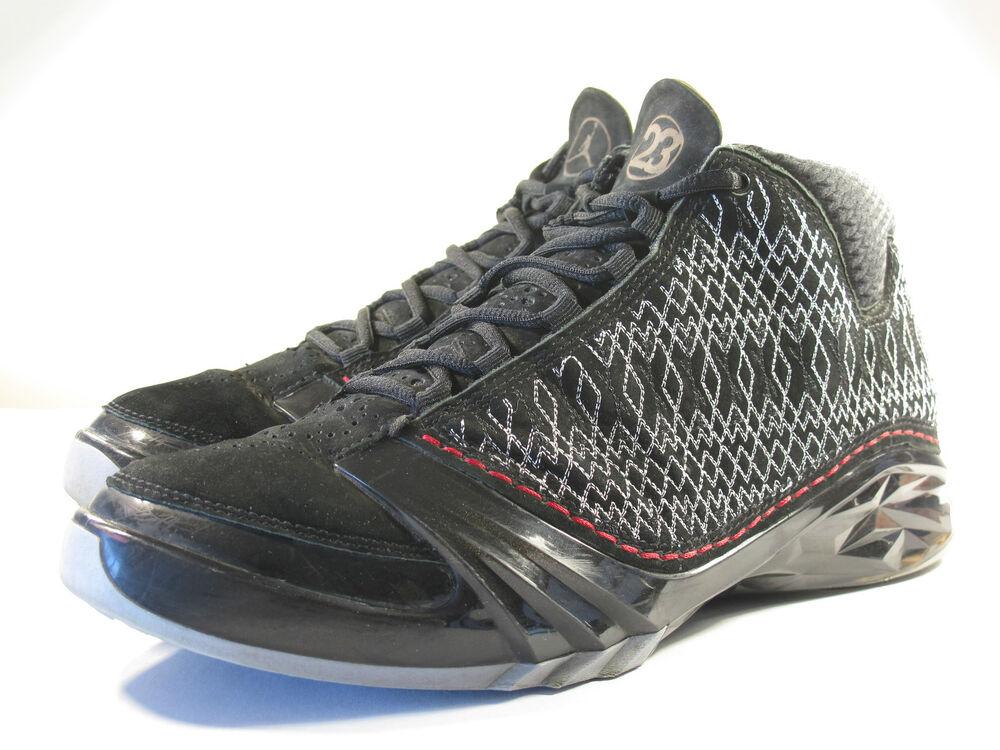 NIKE 2007 AIR JORDAN XXIII STEALTH BRED 9.5 I III IV VI VIII X XI XII XIII XXI Chaussures de sport pour hommes et femmes