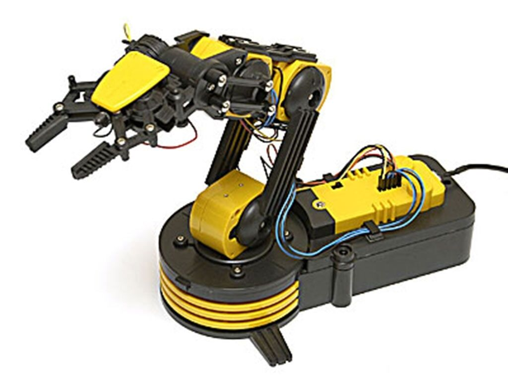 Robotic Arm Kit with USB PC Interface - GorillaSpoke for Free P&P to IRE & UK