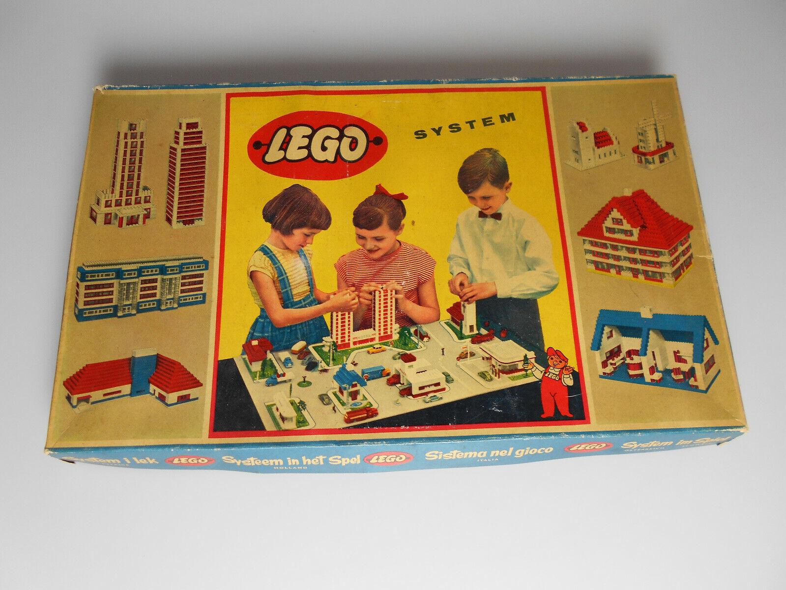 Lego ® system set 700 3 de 1956 mursten extranjeros box raras