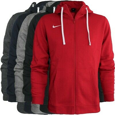 Nike Club19 Hoodie Hoody Men's Pullover Sweatshirt Full ZIP Sportswear Jacket | eBay