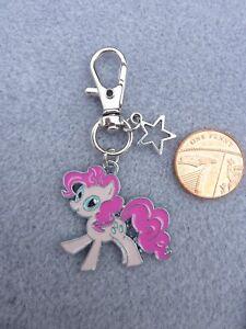 MY LITTLE PONY PINKY PIE CHARM BRACELET BANGLE ADJUSTABLE BIRTHDAY GIFT BOX