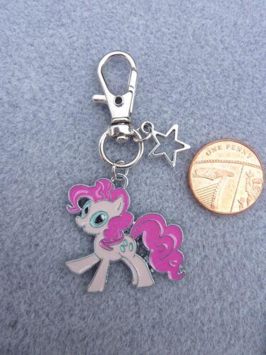 Mon Petit Poney Pinkie Pie Porte-clé en émail Sac Charme Anniversaire Cadeau # 266
