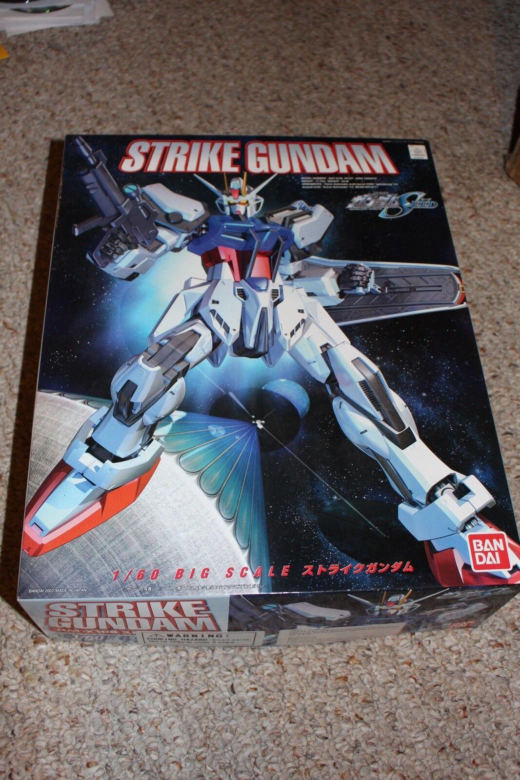 Golpe Gundam Gat X105 1 60th figura Completo en Caja  117 casi nuevo y sin usar 1 60 Modelo
