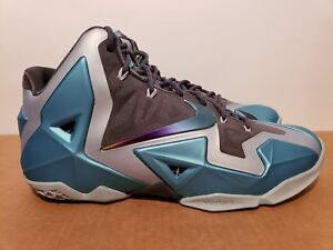 2be4c51249b74 Size 9.5 NIKE LEBRON XI 11 GAMMA BLUE florida what the 2k14 VNDS ...