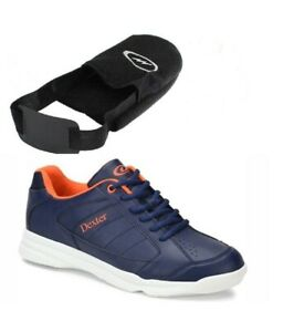 Dexter Bowling Mens Ricky IV Navy Orange