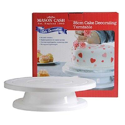2007.614 MASON CASH 27cm Turntable Cake Decorating, Icing,