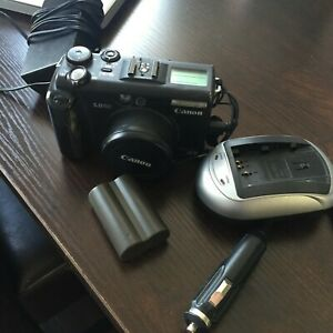 Canon PowerShot G5 5MP Digital Camera w// 4x Optical Zoom