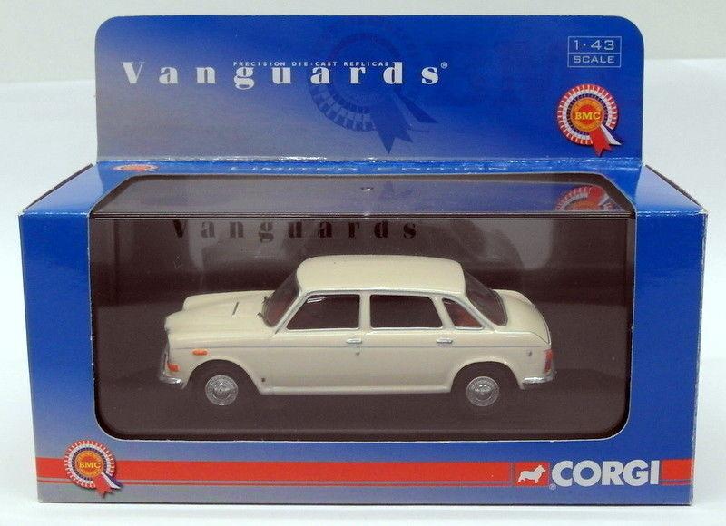 Vanguards 1 43 Scale Diecast VA08504 - Wolseley Six - Old English White
