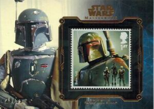 STAR-WARS-Masterwork-2016-Bronze-Stamp-Card-of-Boba-Fett-29-99-Royal-Mail