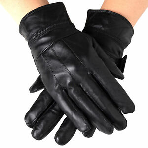 Alpine-Swiss-Womens-Touch-Screen-Gloves-Leather-Phone-Texting-Glove-Thermal-Warm