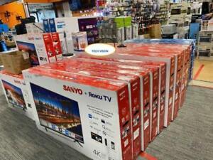 SANYO, PHILIPS, SAMSUNG  4K UHD TV 32, 40, 43, 50, 55, 65 INCH SMART LED TVS Markham / York Region Toronto (GTA) Preview
