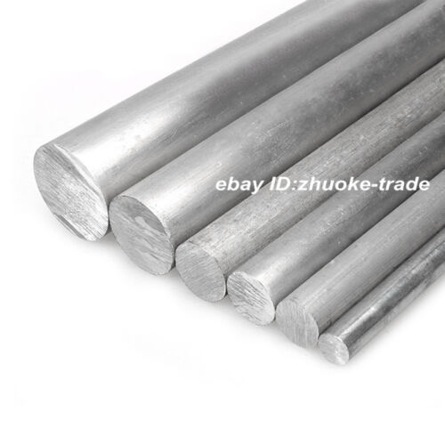 Φ50mm ALUMINUM 6061 Round Rod D50mm Any Length Solid Lathe Bar Cut Stock Metal