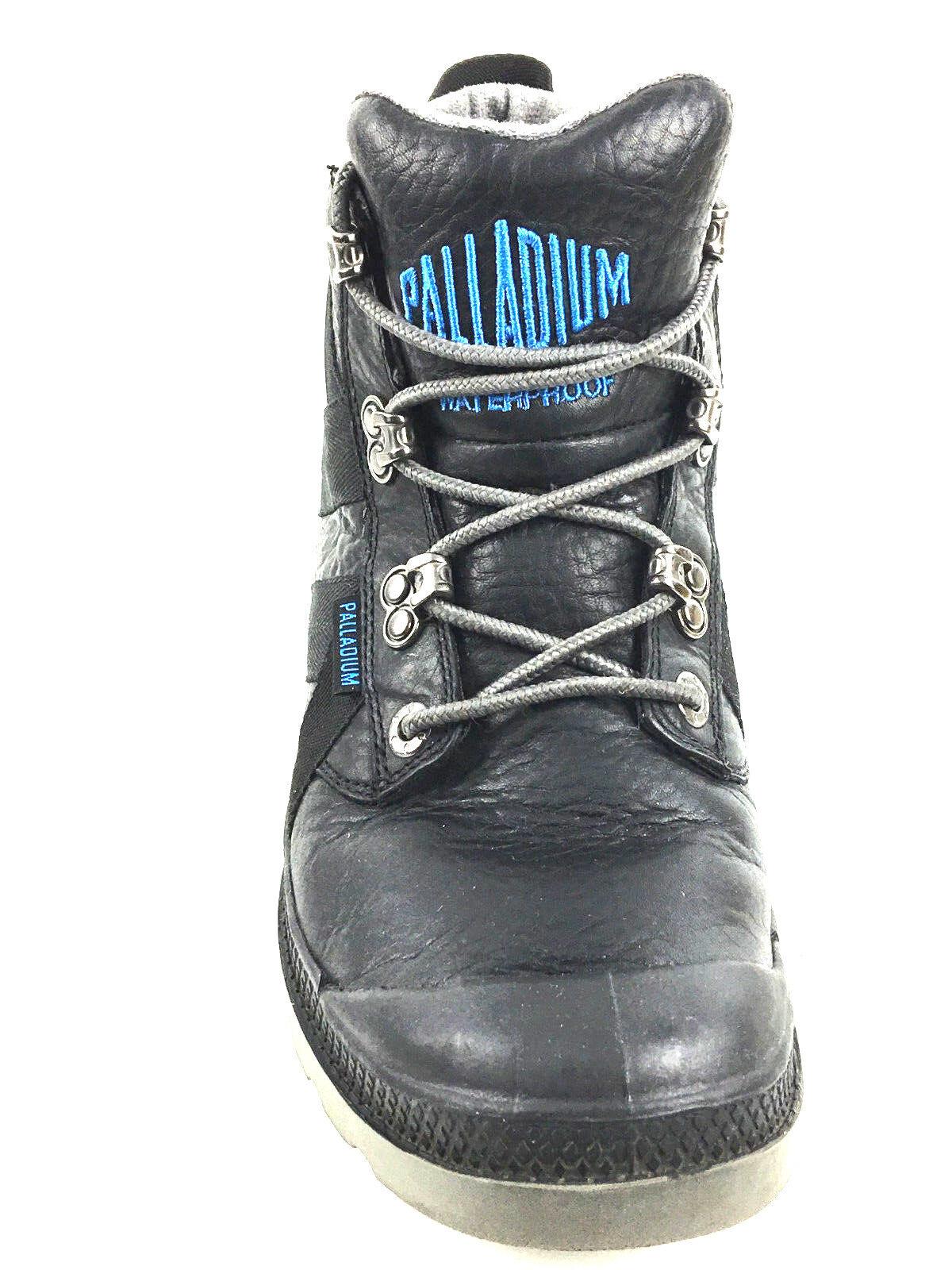 comodamente Palladium nero Leather Ankle stivali Dimensione US 10 UK9 UK9 UK9 EU. 43  Ultimo 2018
