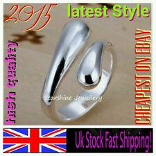 925 sterling silver ring thumb WHOLESALE Christmas anniversary women gift bag