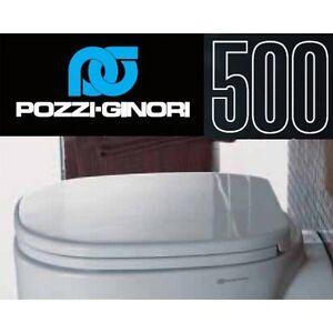 Sedile Copriwater Pozzi Ginori Serie 500.Dettagli Su 3s Copri Water Wc Asse Sedile Serie 500 Originale Pozzi Ginori Codice 41761 New