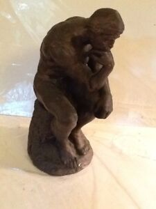 Details About Covetable Repro Of Rodin S The Thinker Sculpture Statue By Austin Productions