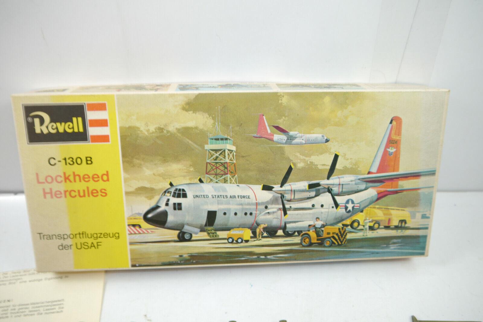 Revell C-130 B Lockheed Hercules H-183 1 Version  Plastik Modelllbausatz  (K85 )