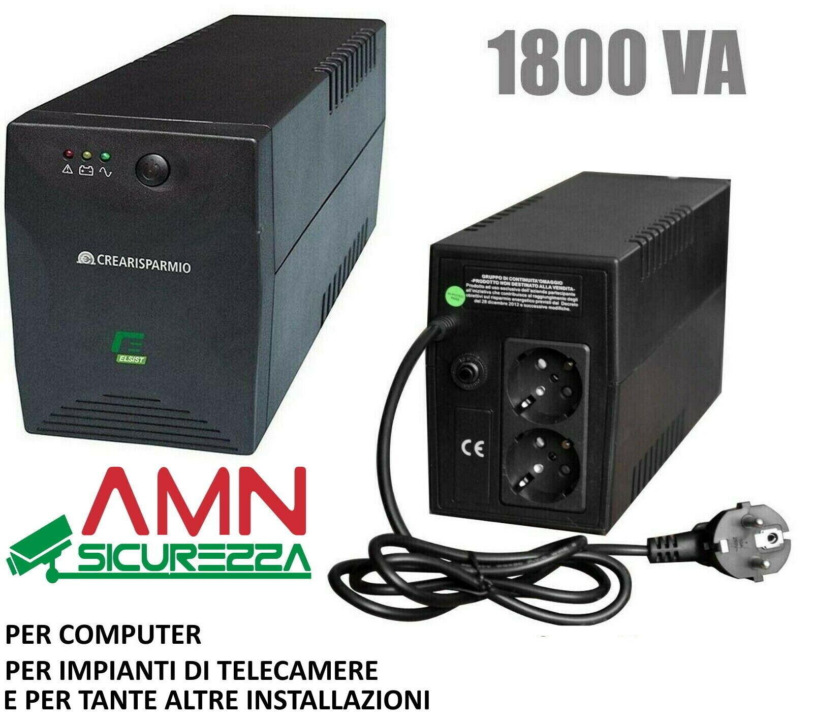 UPS e Mediacom Ups 600 gruppo di continuit/à 3 presa AC 600 VA