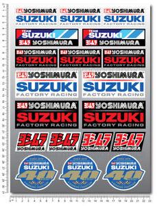 Suzuki-Team-Racing-Yoshimura-GSXR-sticker-set-decals-gsx-r-600-1000-Laminated