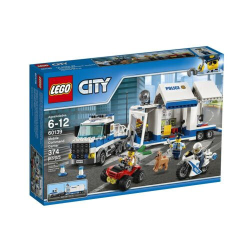 LEGO City Police Mobile Command Center 60139 Building Kit Free Shipping