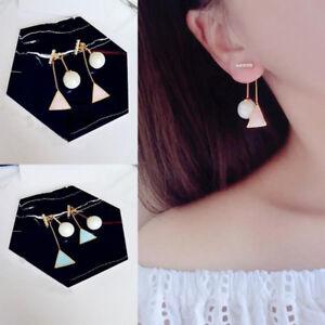 Elegant-Crystal-Ear-Stud-Blue-Triangle-Pearl-Dangle-Earrings-Women-Jewelry