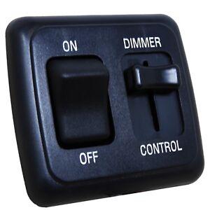 12v Dimmer Switch >> Details About Led Dimmer Switch 12 Volt On Off Light Rv Motor Home Camper Travel Trailer Black