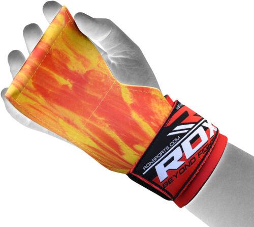 RDX Gewichtheben Gymnastik Griffe Gurte Handgelenk Handfläche Unterstützung O DE