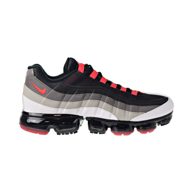 Nike Air Max Vapormax 95 Hot Red Pewter Black off White Comet Sz 9