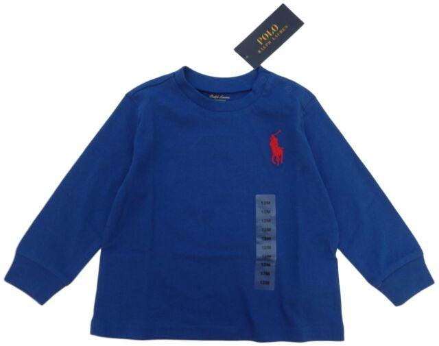 24m Ralph Lauren Baby Long Sleeve T Shirts Blue