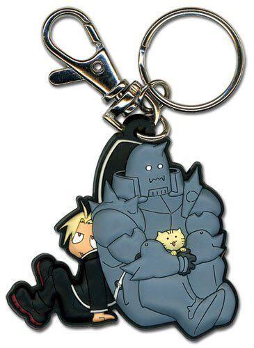 Great Eastern Entertainment FMA Brotherhood Ed Al Kitty PVC Keychain
