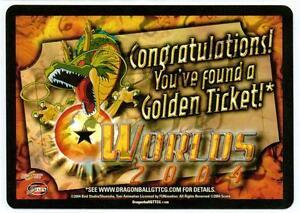 GOLDEN TICKET Baby Promo Dragon Ball Z Ccg Tcg Dbgt Score Near Mint
