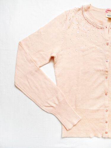 in misto Cardigan lana Eagle taglia Impreziosito media American New Tag rosa Con OYxqYCA