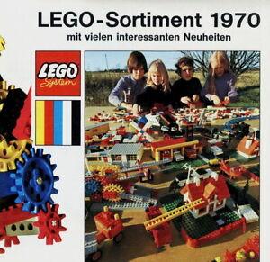 Lego-Prospekt-Sortiment-1970-Spielzeug-brochure-toys-catalogue-jouets-catalog