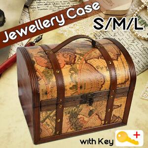 Pirate-Treasure-Jewelry-Chest-Trinket-Keepsake-Box-Storage-Organizer-Gift