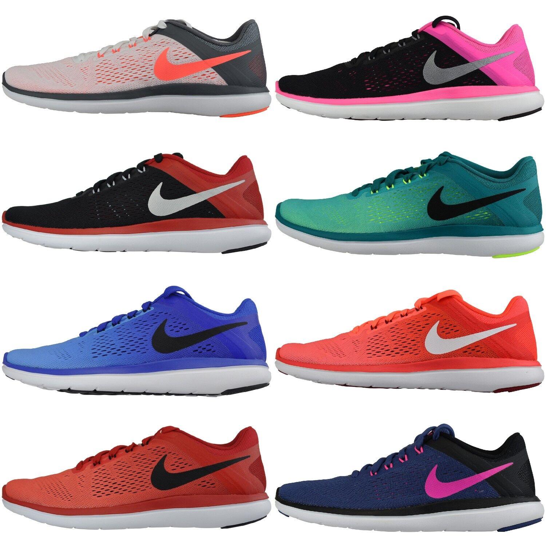 Nike Flex 2016 Run Damenschuh Laufschuh Sneaker Sportschuh Turnschuh Textil