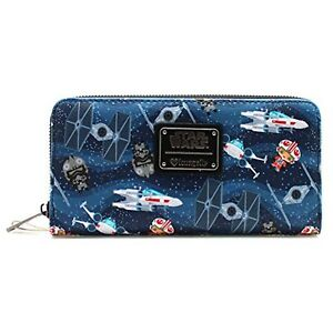 Loungefly-Star-Wars-Kawaii-Zip-Around-Wallet-NEW-IN-STOCK