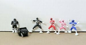 VINTAGE-Mighty-Morphin-Power-Rangers-Lot-6-Galoob-MICRO-MACHINES-1992
